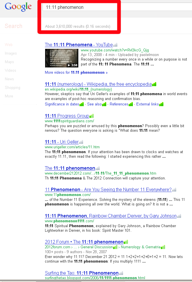 google-1111-phenomenon