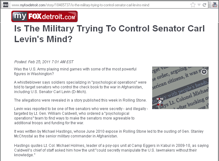 is-the-military-trying-to-control-senator-carl-levins-mind