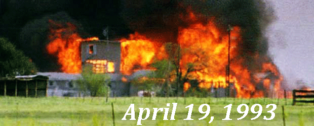 Waco, Texas Massacre - April 19, 1993