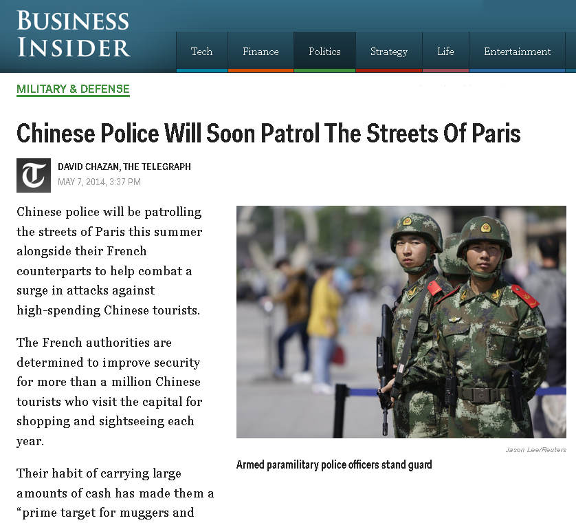 chinese-police-will-patrol-paris-may-7-2014