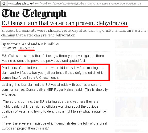 eu-ban-claim-that-water-can-prevent-dehydration