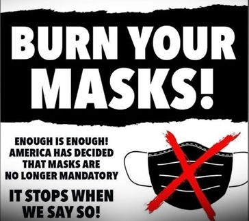 burn your masks