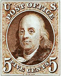 Ben Franklin Stamp