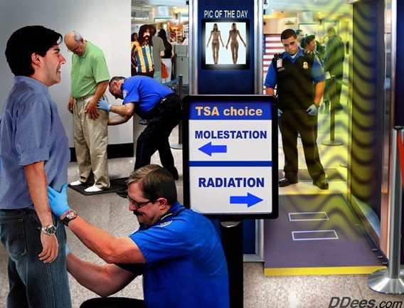 Airport Screening - Molestation vs. Radiation