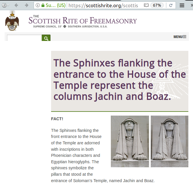 scottish rite sphinx