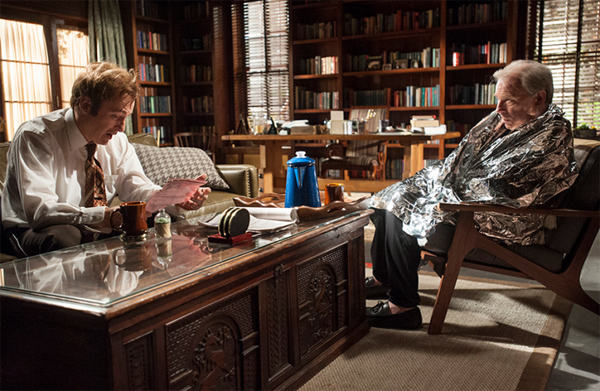better call saul chuck space blanket
