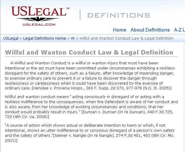 willful-and-wanton-conduct