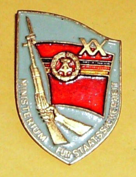 stasi badge