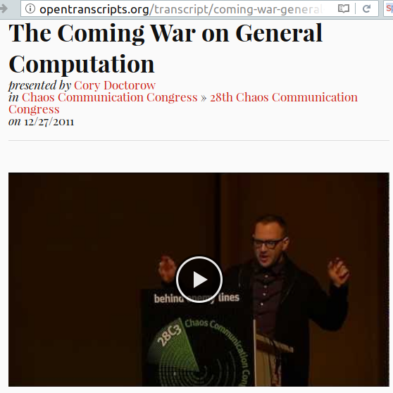 The coming war on general purpose computation