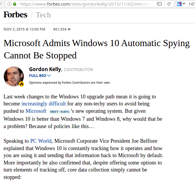 windows10 spying cant be stopped