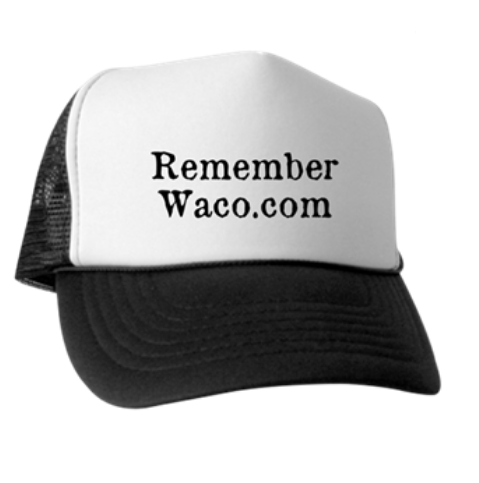 RememberWaco.com Trucker Hat